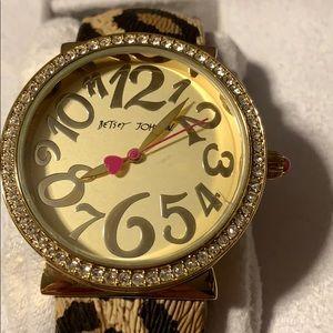 Betsey Johnson Accessories - Like New Betsey Johnson Watch